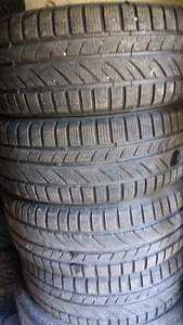 WINTER TIRES   205/55/r16    ($155 . SET OF 4TIRES