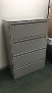 Lateral 4-Drawer Filing Cabinet