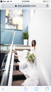 Lace wedding dress, used for sale  Toronto