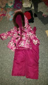 Box of girls size 3 clothing
