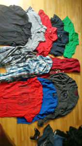 American Eagle, CK & TH Shirts size large