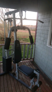 Universal 5 in 1 gym equipment
