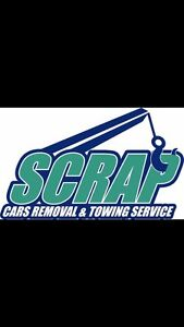 CASH FOR SCRAP CARS SAME DAY FREE TOWING $350