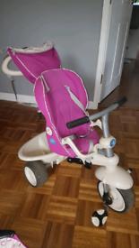 Smart-trike recliner 4 in 1