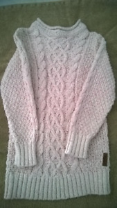 Roots - Girls Light Pink Sweater - Size 5T