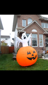 8ft Ghost Inflatable Halloween Decoration