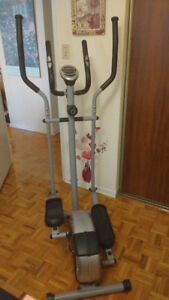 Eliptical Trainer - Sunny, magnetic. Price negotiable.