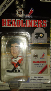 Eric Lindros Figurine Headliners $20. Firm