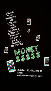 Buying & Fixing All IPhones ! ! !