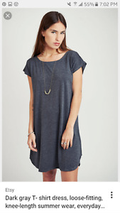 T-Shirt Dresses and Skirts