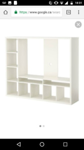 Ikea Tv storage unit. (White)