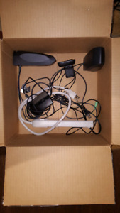 Speakers, Webcam, Powerbar, and Mouse