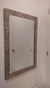 2 matching mirrors ($30 each or both for $50)