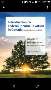 Introduction to Federal Income Taxation in Canada 37 Ed Bundle
