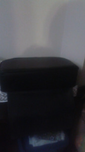 Black booster seat for hair dressing