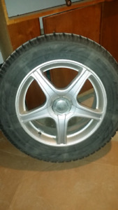 Toyo Observe GSI-5 tires and rims