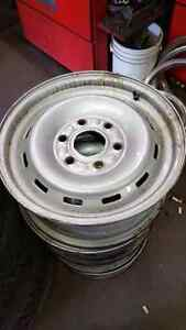 Chevy GMC steel rims