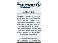 Plumbing, heating and gas engineer plumber