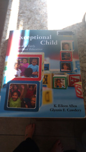 The exceptional Child textbook