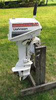 7.5HP JOHNSON OUTBOARD MOTOR (1980)