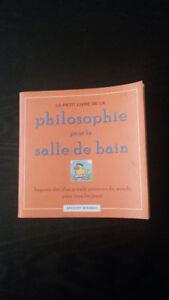 Le petit livre de la philosophie pour la salle de bain