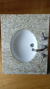 COUNTER TOP BUILD IN SINK FAUCETS