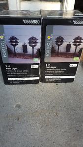 Portfolio Landscape path Lights - 4 lights - New