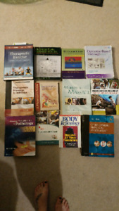 Massage Therapy Textbooks & uniform