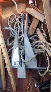Boat anchor good up to 32' .