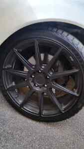 """19"""" Niche rims for sale ( STAGGERED SETUP )"""
