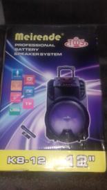 Speaker bluetooth plus wireless new