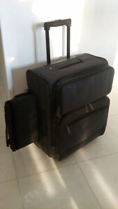 Carry on luggage with computer sleeve - like new.