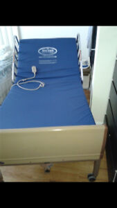 Fully Electric hospital bed with remote