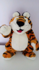 12 Inch Tony Tiger Vintage Plush Toy dated 1990 in mint condition!!