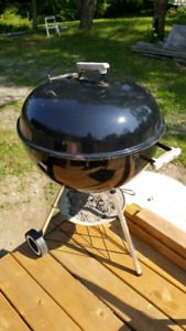 weber charcoal grill/ bbq