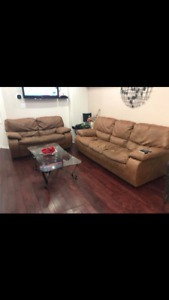 3 piece Furniture - couch, loveseat and chair