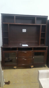 2 Piece Electronic Sytem Table and Frame at Cambridge ReStore