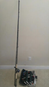 Fishing Rod with a Box included sink,lure..