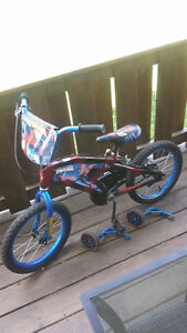 youth Spiderman bike