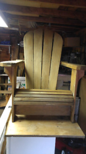 A Pair Of Muskoka Chairs