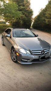 2012 Mercedes Benz E350 Coupe