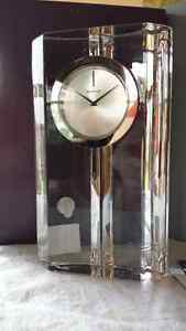 Signia Large Waterford Crystal Clock