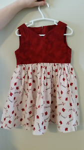 Canada dress -- Homemade (one of a kind)