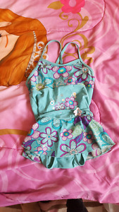 Girls bathing suits 4t-6t
