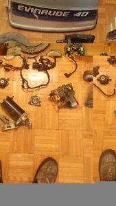 Pieces de moteur Johnson 40  Forces 1970