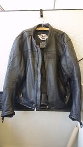 HARLEY PERFORATED LEATHER JACKET