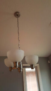 Hanging Ceiling Light - 3 globes