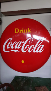 Coca Cola button 4 foot