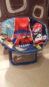 Spiderman and cars chairs