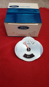 1964 FORD FAIRLANE SPORTS COUPE Fuel / Gas / Oil Gauge NOS